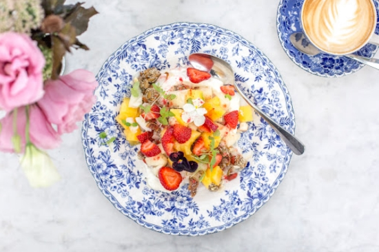 Granola, Fruit & Yoghurt - Vaucluse House Tearooms